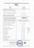 Сертификаты на продукцию Adblue - 5